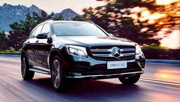 Удлиненный Mercedes-Benz GLC L специально для Китая   фото
