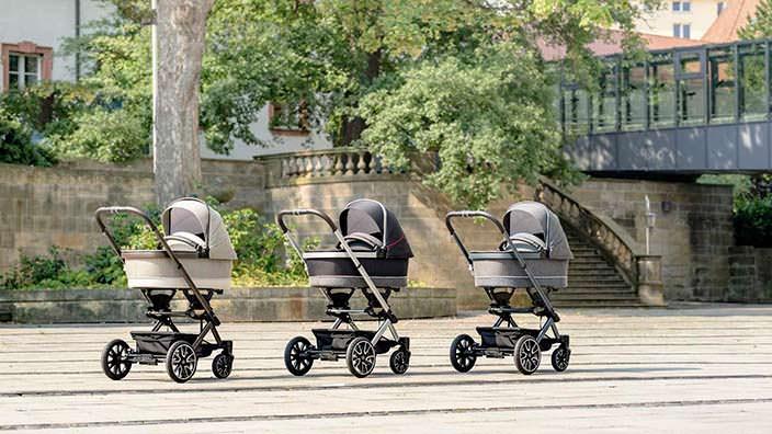 Детские коляски Mercedes-Benz Avantgarde совместно с Hartan