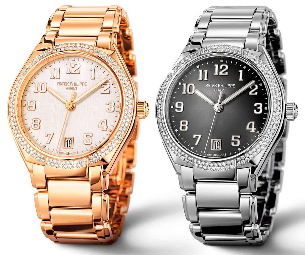 Женские часы с бриллиантами Patek Philippe Twenty-4 Ref. 7300