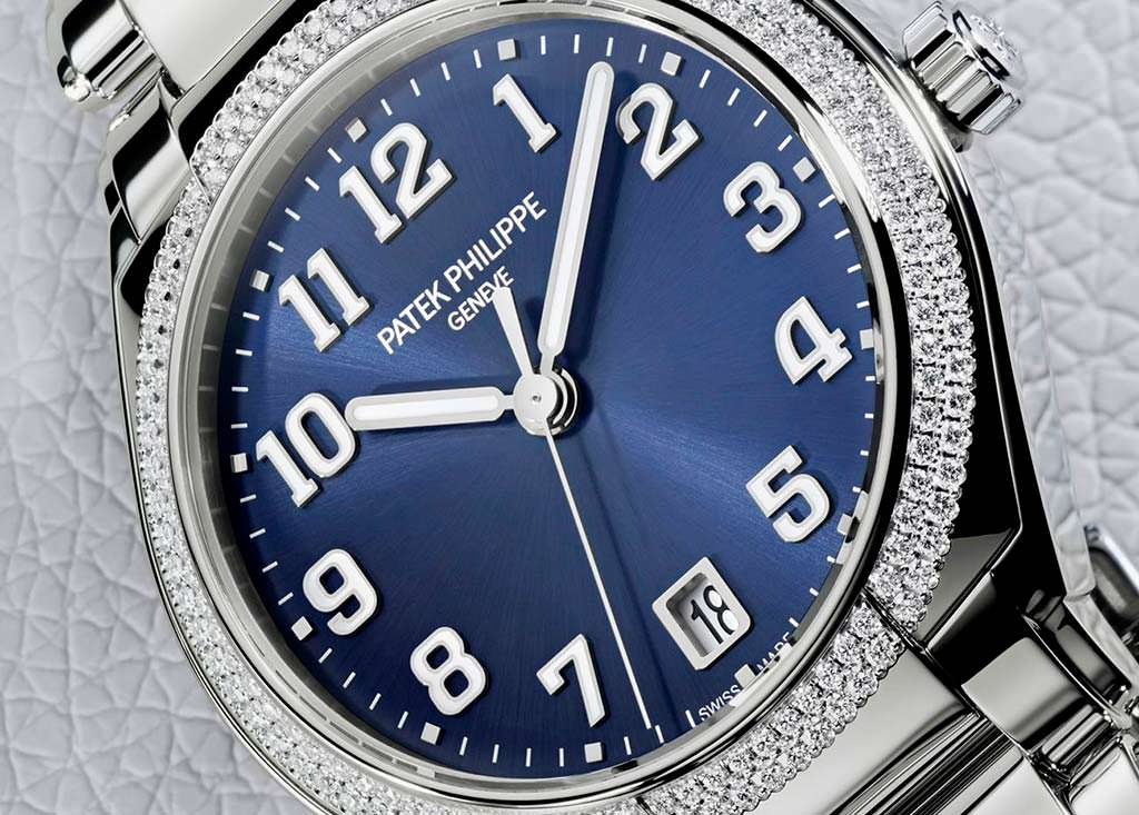 Часы с бриллиантами Patek Philippe Twenty-4 Ref. 7300. Цена $26 083