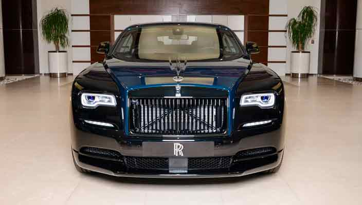 Создан уникальный Rolls-Royce Wraith Black Badge | фото
