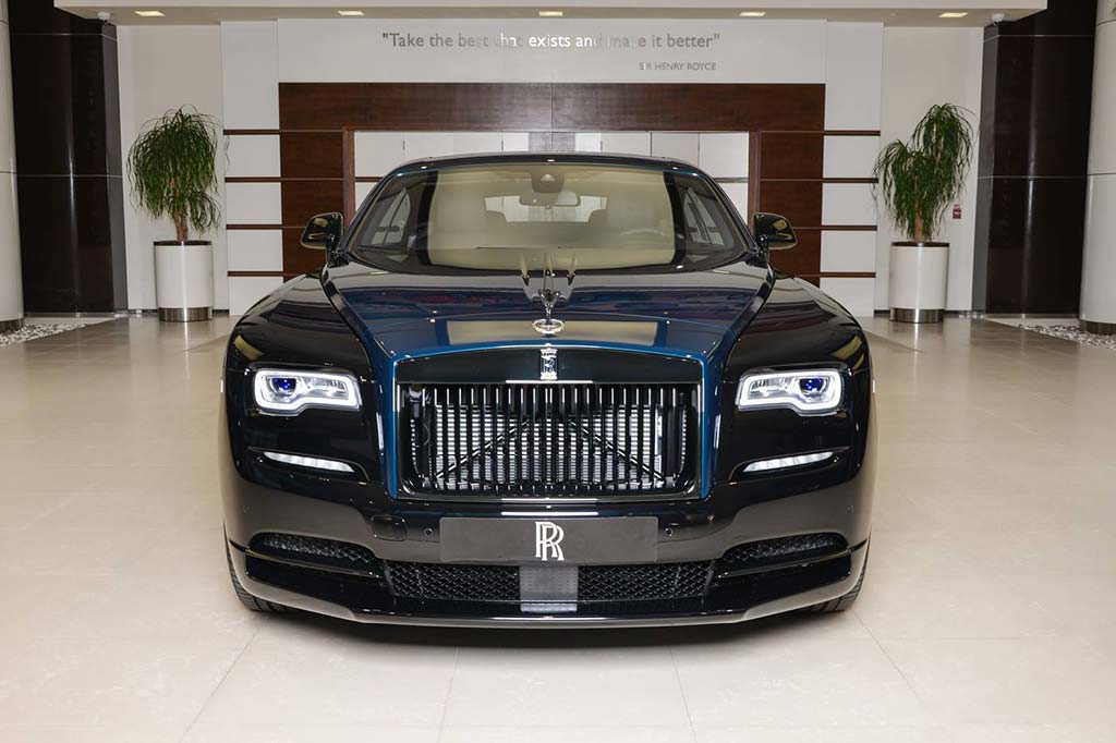 Коллекционный Rolls-Royce Wraith Black Badge