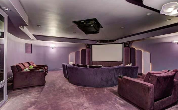 Домашний кинотеатр у Эдди Мерфи