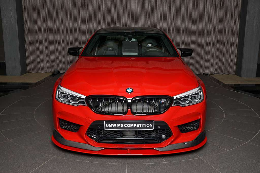 Тюнинг BMW M5 Competition от AC Schnitzer