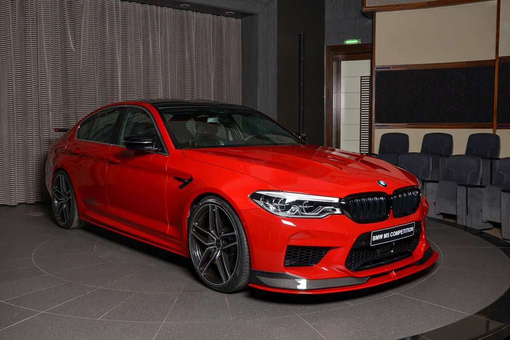 BMW M5 Competition. Тюнинг от AC Schnitzer