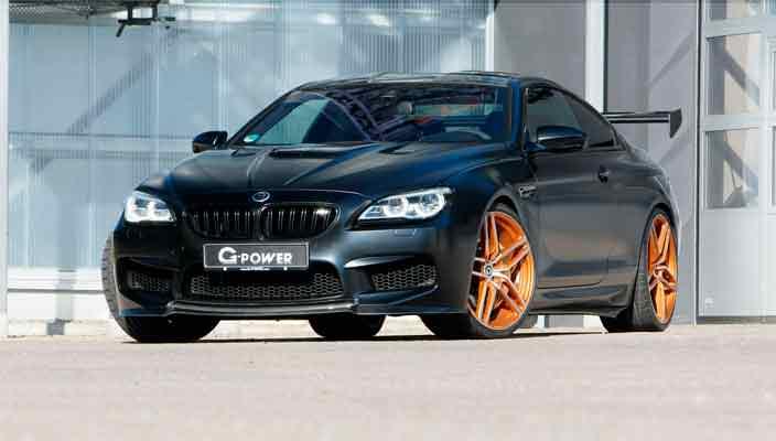 Экстремальный тюнинг BMW M6 Coupe: 800-сил от G-Power | фото