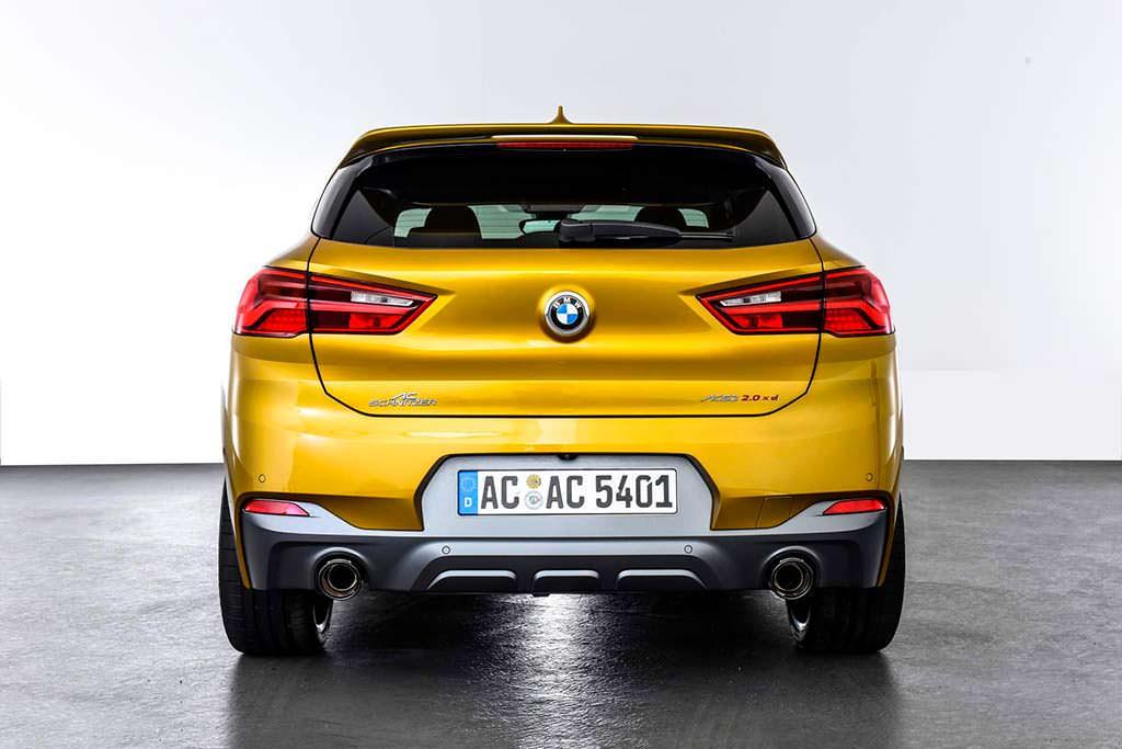 Тюнинг BMW X2 от AC Schnitzer