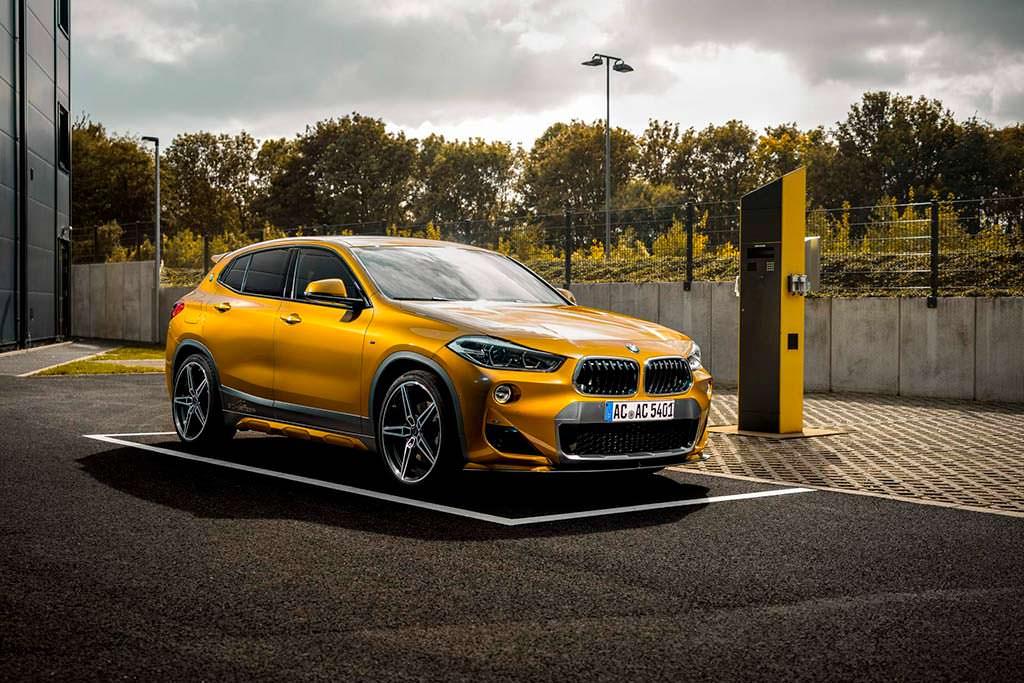 Новая BMW X2. Аэрообвес от AC Schnitzer