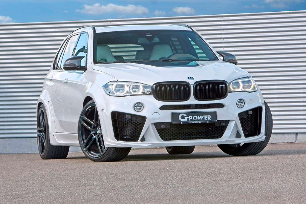 Старый BMW X5 Typhoon. Тюнинг от G-Power