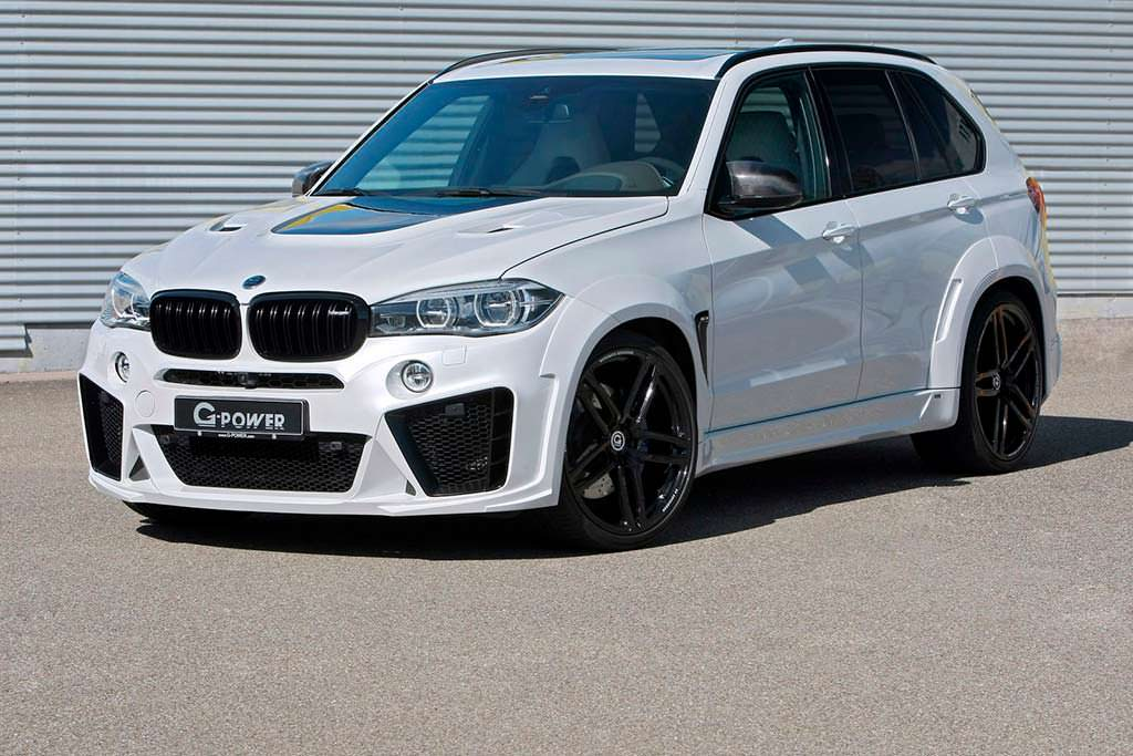 Тюнинг BMW X5 Typhoon от G-Power