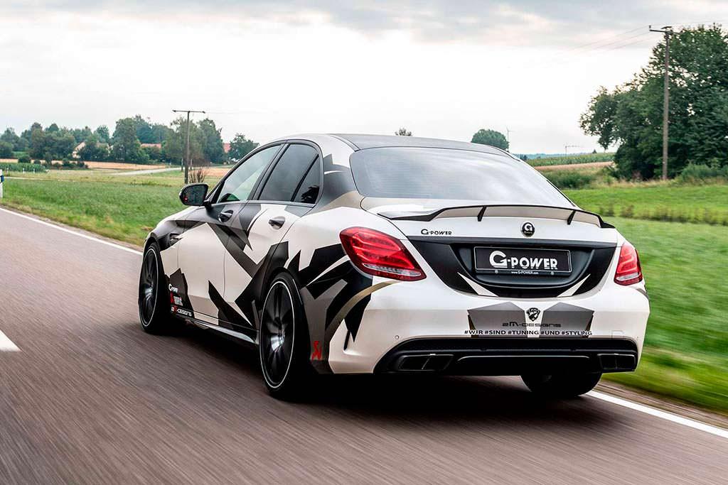 Mercedes-AMG C63 S в кузове W205. Тюнинг G-Power