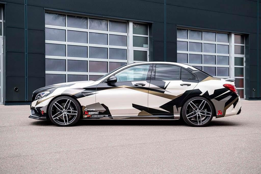 Супер-седан Mercedes-AMG C63 S W205. Тюнинг G-Power