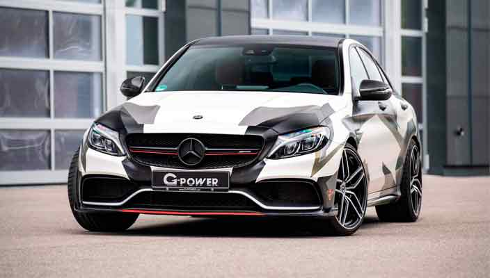 G-Power прокачал Mercedes-AMG C63 S в кузове W205 | фото