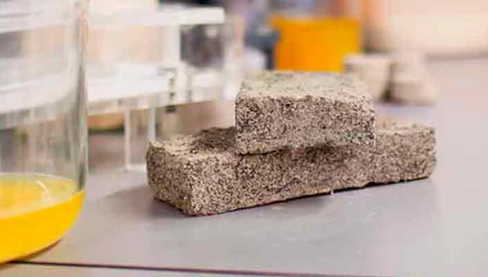 Ученые научились делать био-кирпичи из человеческой мочи