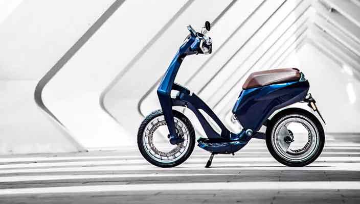 UJET сделала складной электро-скутер | цена, характеристики