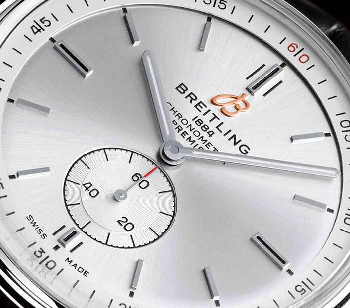 Breitling Premier Automatic 40: часы на калибре ETA 2895-2
