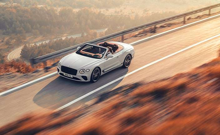 Новый Bentley Continental GT Convertible