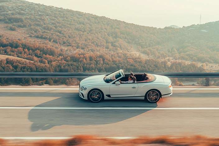Новый Bentley Continental GT Convertible 2019