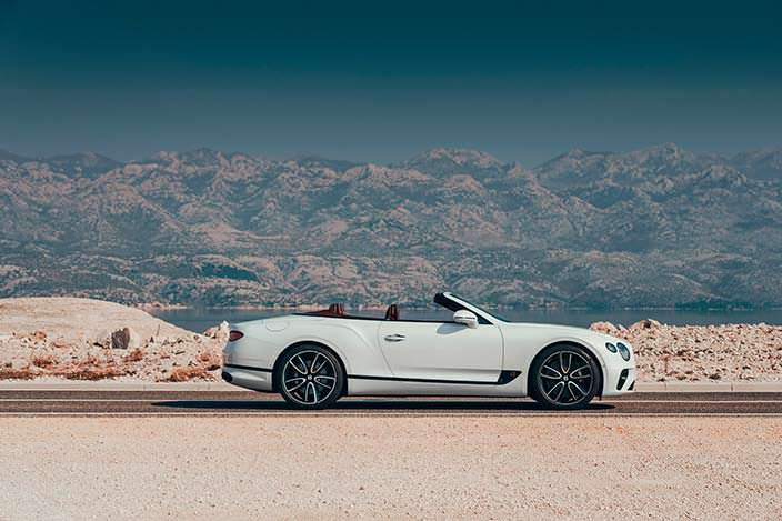 Кабриолет Bentley Continental GT Convertible