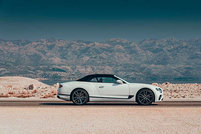 Складная мягкая крыша Bentley Continental GT Convertible