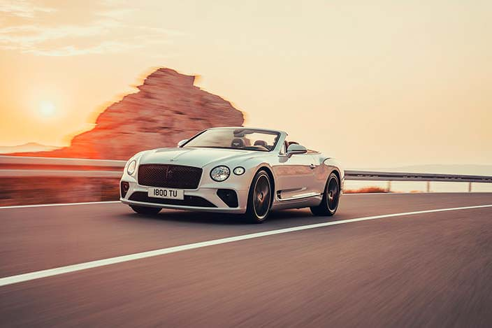 Bentley Continental GT Convertible нового поколения