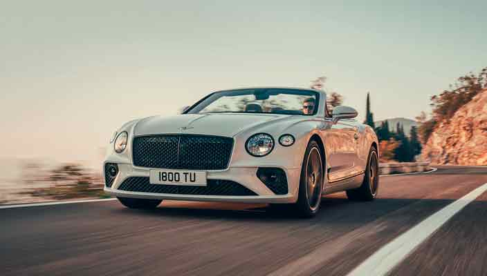 Новый кабриолет Bentley Continental GT Convertible | фото