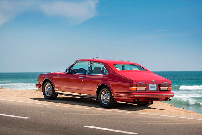 Представительский Bentley Turbo RL Empress II Coupe 1991 года