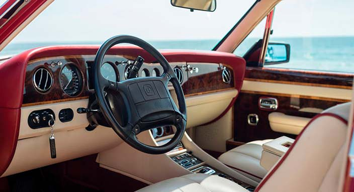 Фото салона Bentley Turbo RL Empress II Coupe 1991 года