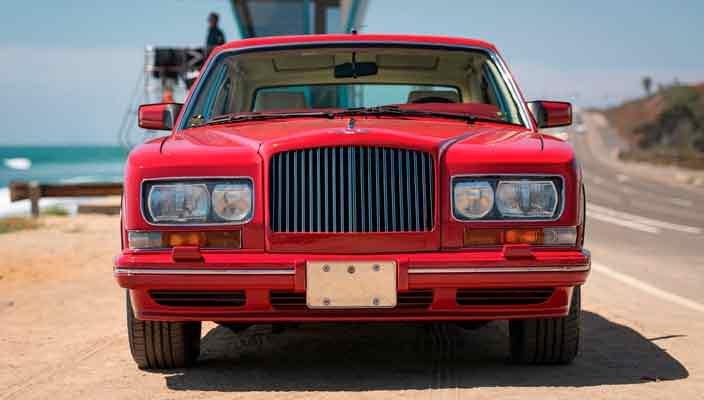 Редкий Bentley Turbo RL Empress II Coupe уйдет с молотка