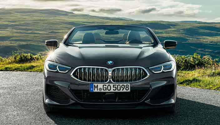Кабриолет BMW 8 Series Convertible G15 официально | фото