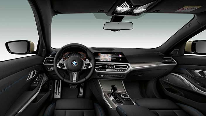 Фото салона BMW M340i xDrive