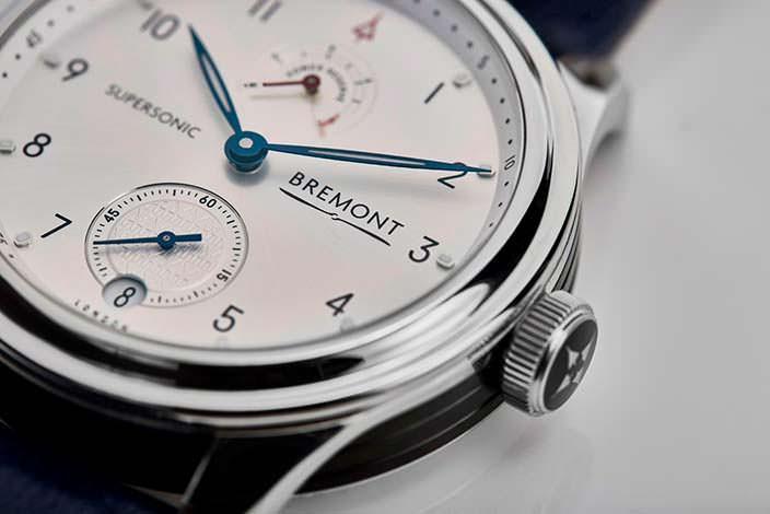 Английские часы Bremont Supersonic Limited Edition