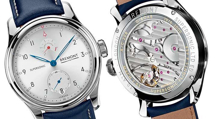 Часы Bremont Supersonic Limited Edition в честь Конкорда