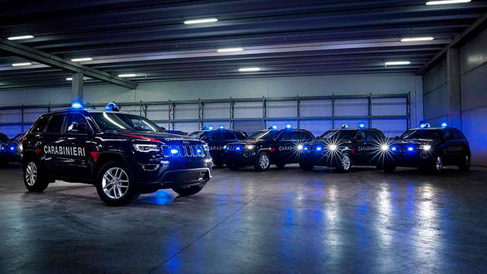 Полицейский Jeep Grand Cherokee Carabinieri
