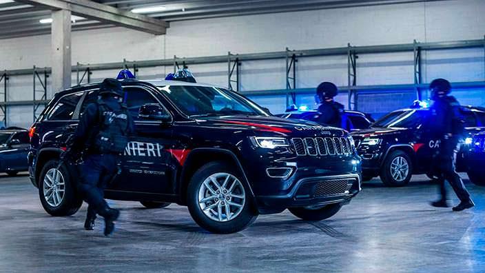 Бронированный внедорожник Jeep Grand Cherokee Carabinieri