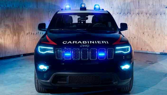 Бронированный Jeep Grand Cherokee создан для полиции Италии