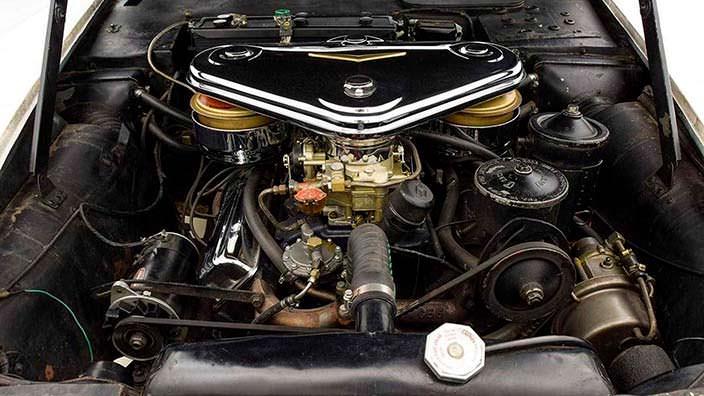Под капотом Cadillac Die Valkyrie