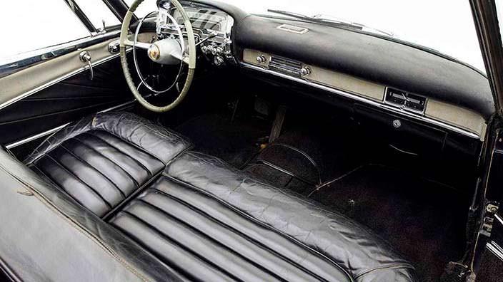 Кожаный салон Cadillac Die Valkyrie