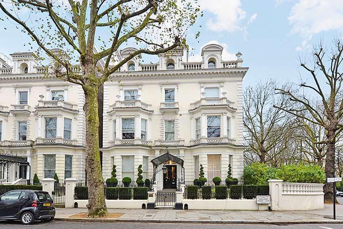 Фото   Дом Дэвида и Виктории Бекхэм в Лондоне