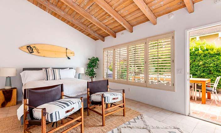 Спальня в пляжном доме Дениз Ричардс