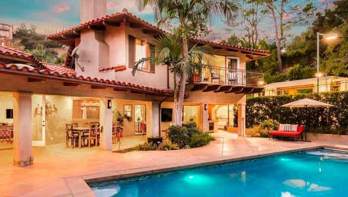 Крис Прэтт и Анна Фэрис продают дом после развода | фото, цена