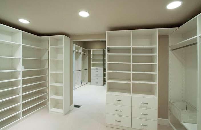 Двухкомнатный гардероб в доме Николь Кидман