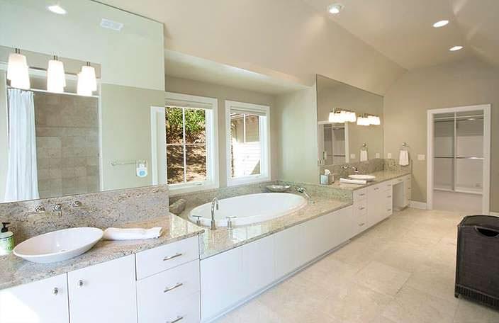 Элитный дизайн ванной комнаты у Николь Кидман