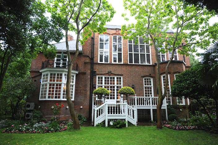 Фото   Дом Робби Уильямса и Айды Филд в Лондоне