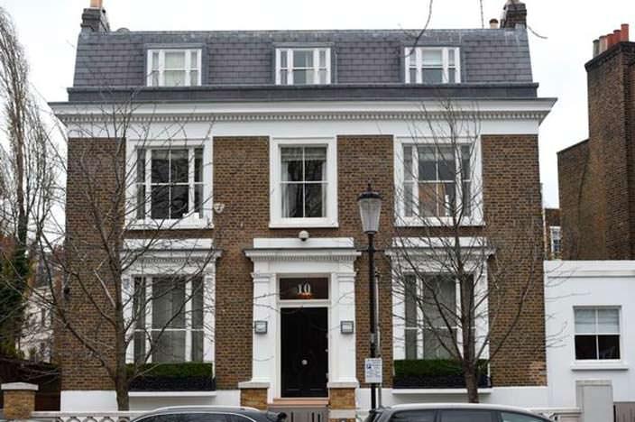 Фото   Дом Саймона Коуэлла в Лондоне