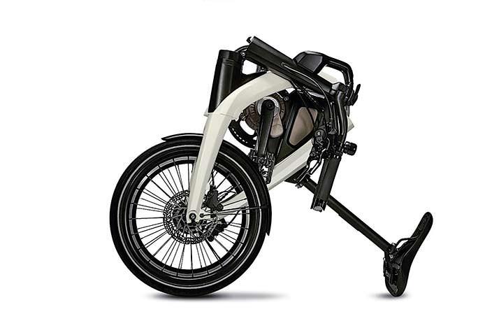 Складной электро-велосипед General Motors