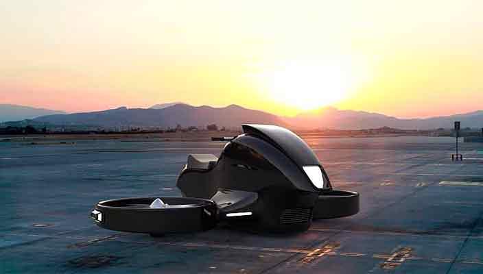 Гиродрон VTOL - концепт воздушного транспорта будущего   фото