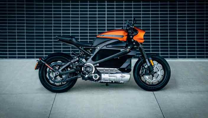 Harley-Davidson выпустил электро-мотоцикл LiveWire | фото