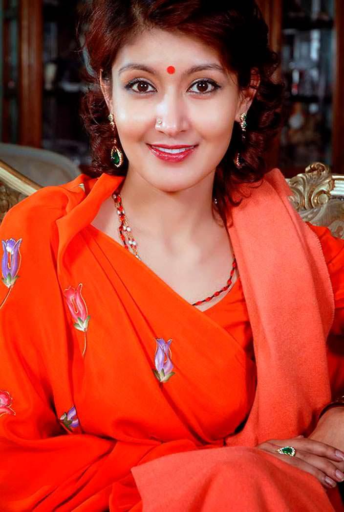 Фото   Принцесса Непала Химани Шах