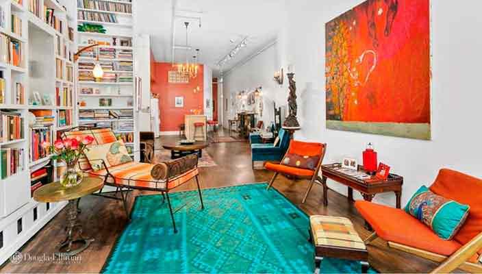 Патриша Кларксон продает квартиру лофт в Нью-Йорке | фото, цена